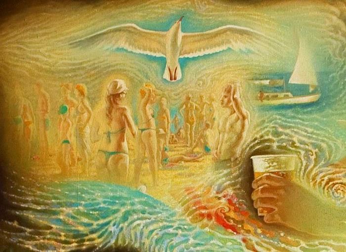 Сюрреалистическая иконопись Олега Королёва 22 (700x510, 119Kb)