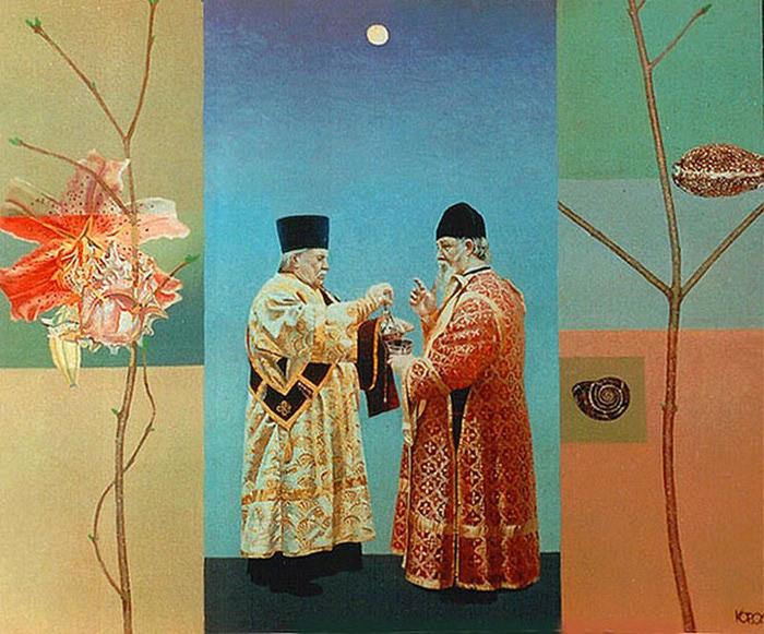 Сюрреалистическая иконопись Олега Королёва 38 (700x581, 135Kb)