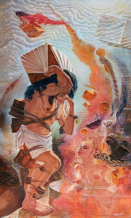 Сюрреалистическая иконопись Олега Королёва 65 (421x700, 497Kb)