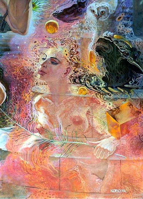 Сюрреалистическая иконопись Олега Королёва 91 (501x700, 482Kb)