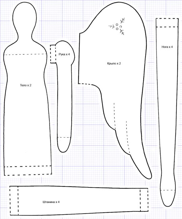 сами: выкройки и схемы