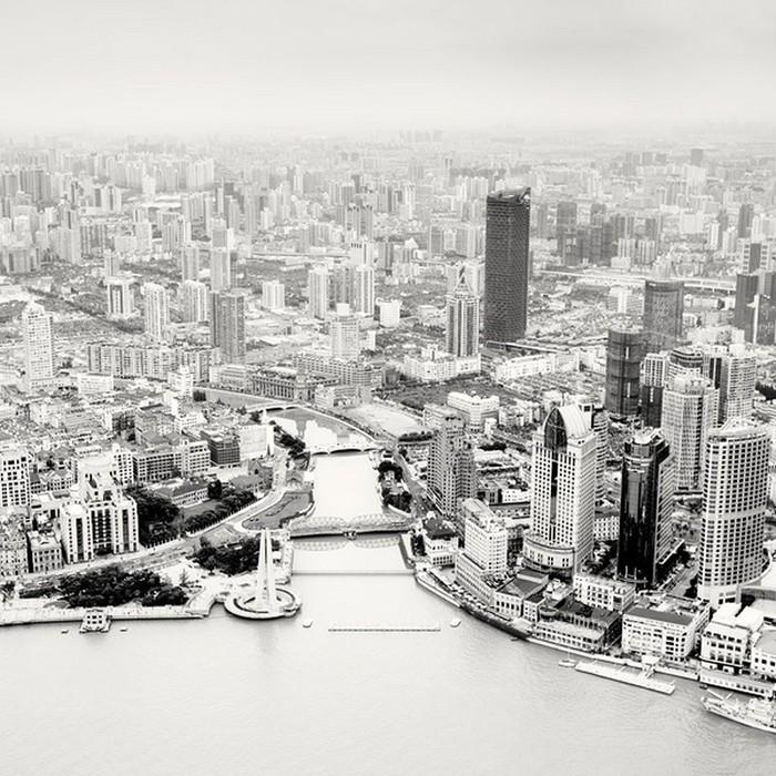 Красивые черно белые фото Шанхая от Martin Stavars 4 (700x700, 153Kb)