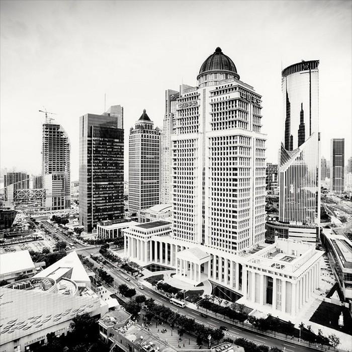 Красивые черно белые фото Шанхая от Martin Stavars 8 (700x700, 164Kb)