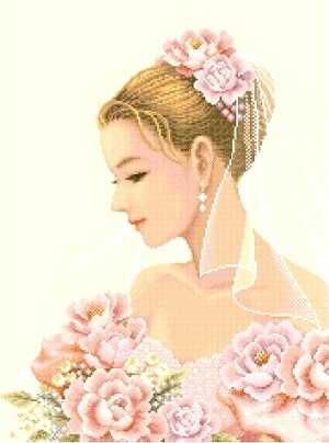 5 свадебных схем. Вышивка