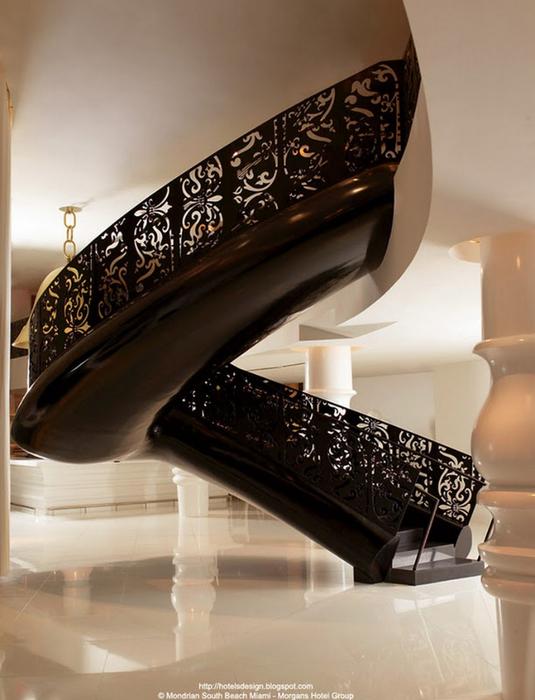 Удивительно красивый дизайн отеля Mondrian South Beach 4 (535x700, 340Kb)