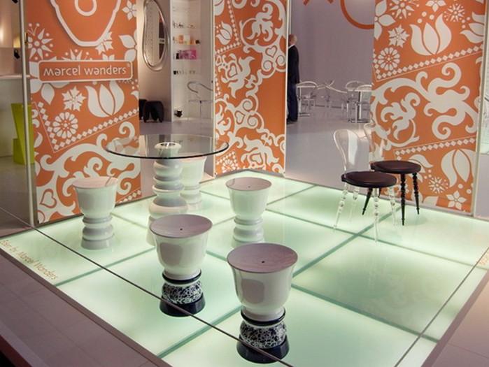 Удивительно красивый дизайн отеля Mondrian South Beach 6 (700x525, 94Kb)