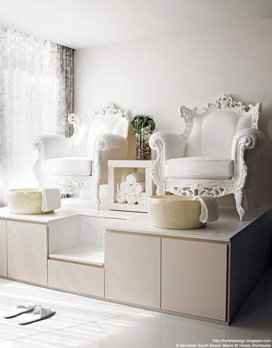 Удивительно красивый дизайн отеля Mondrian South Beach 16 (546x700, 265Kb)
