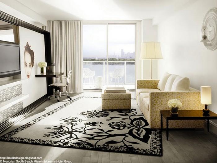 Удивительно красивый дизайн отеля Mondrian South Beach 30 (700x525, 91Kb)