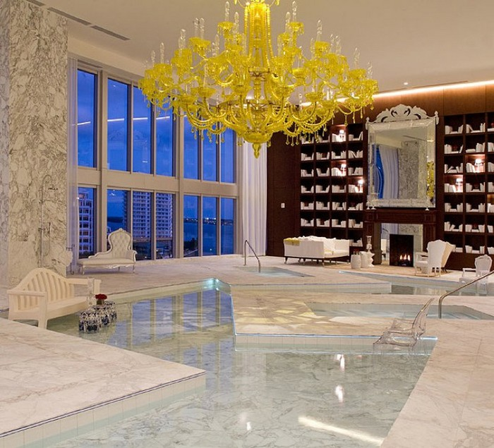 Удивительно красивый дизайн отеля Mondrian South Beach 37 (700x635, 130Kb)