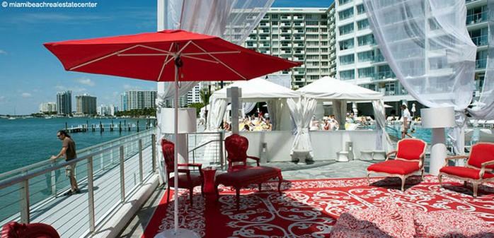 Удивительно красивый дизайн отеля Mondrian South Beach 38 (700x337, 95Kb)