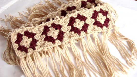 什么是最时尚的配件:围巾、披肩进行时...... -  - 荷塘秀色 - 茶之韵