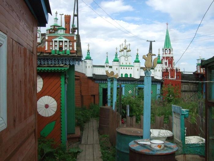 Модель московского кремля в Красноярске