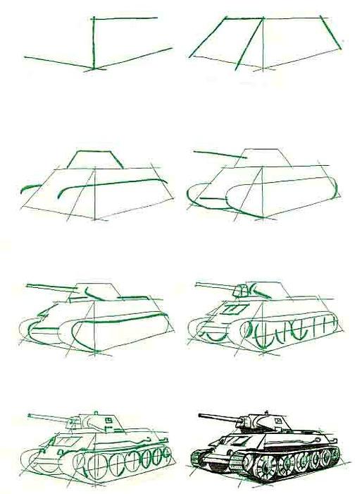 образцы военной техники в