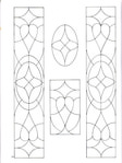 Превью Decorative Doorways Stained Glass - 24 (384x512, 50Kb)