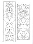 Превью Decorative Doorways Stained Glass - 42 (384x512, 63Kb)