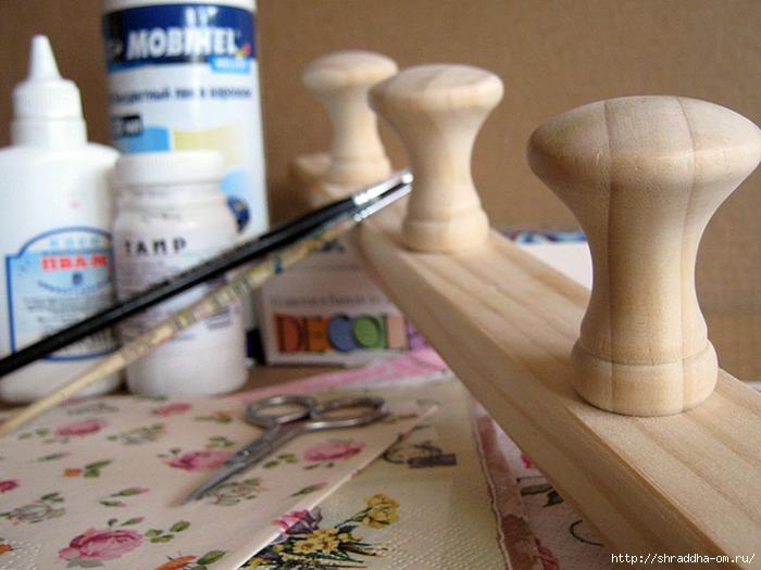 мастер-класс деревянной вешалки, автор Shraddha, 2 (700x525, 222Kb)