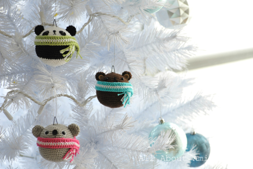 Kartinka - Amigurumi - Teddy Ornaments from Ami - 2 (500x333, 145Kb)