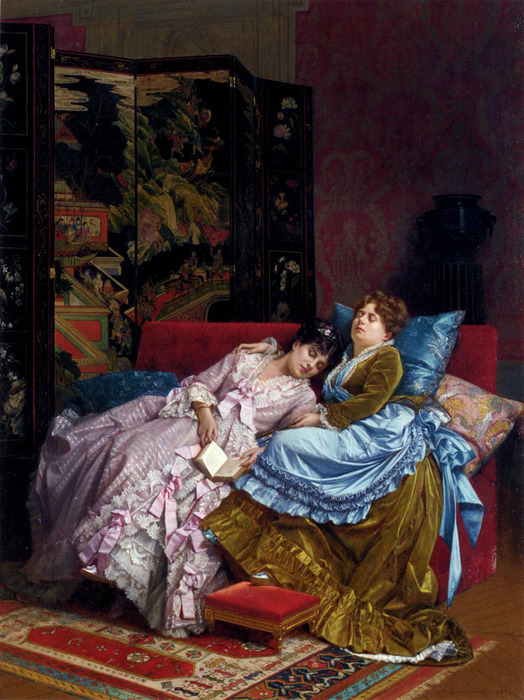 Toulmouche_Auguste_An_Afternoon_Idyll (524x700, 161Kb)