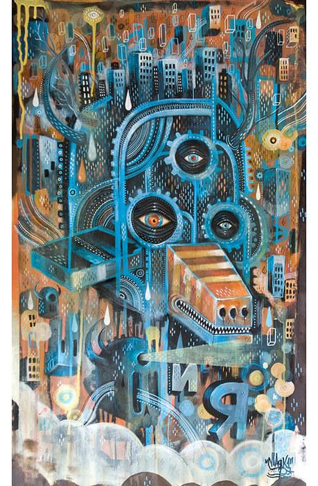 Картины сюрреалистов современности 9 (459x700, 184Kb)