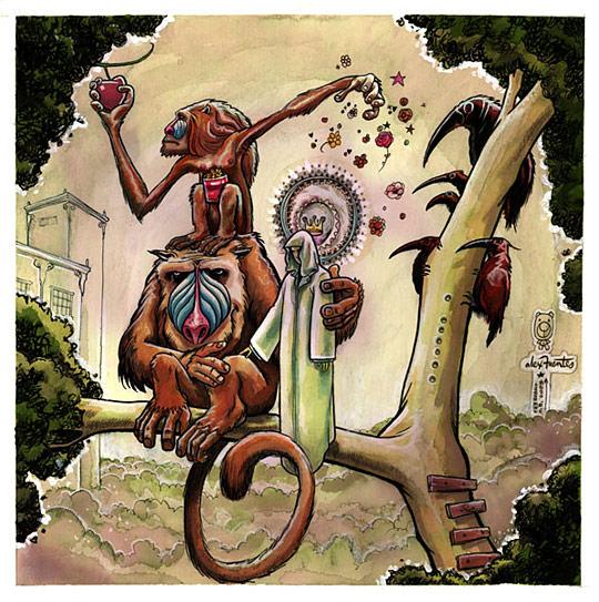 Картины сюрреалистов современности 17 (540x543, 126Kb)