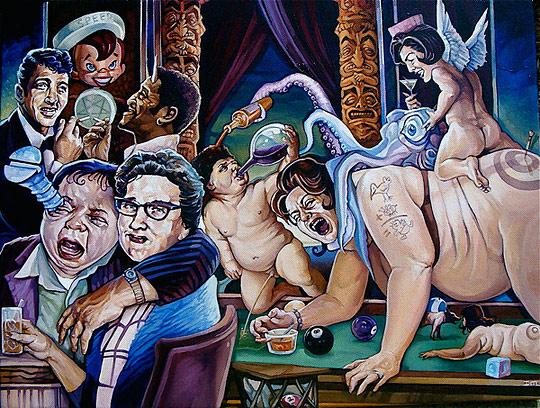 Картины сюрреалистов современности 25 (540x408, 130Kb)
