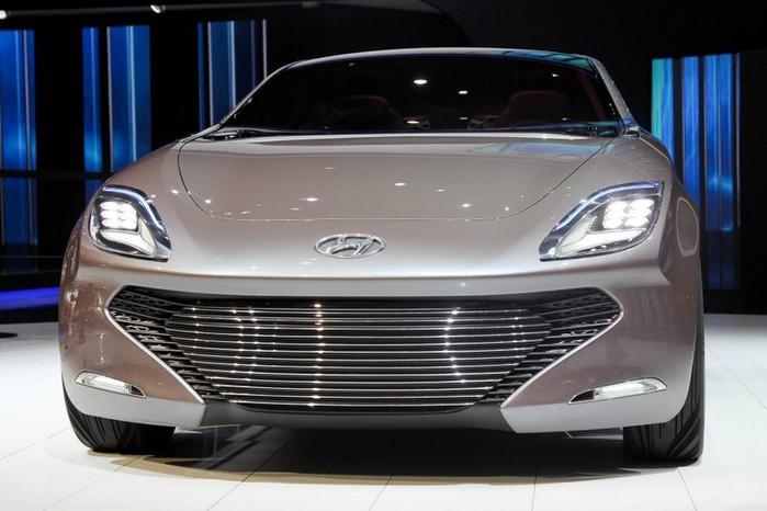 Футуристичный концепт кар I-ioniq от Hyundai 6 (700x466, 69Kb)