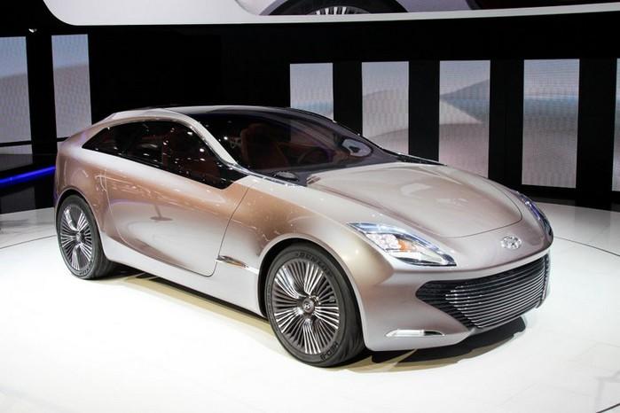 Футуристичный концепт кар I-ioniq от Hyundai 7 (700x466, 66Kb)