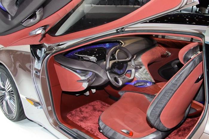 Футуристичный концепт кар I-ioniq от Hyundai 15 (700x466, 101Kb)