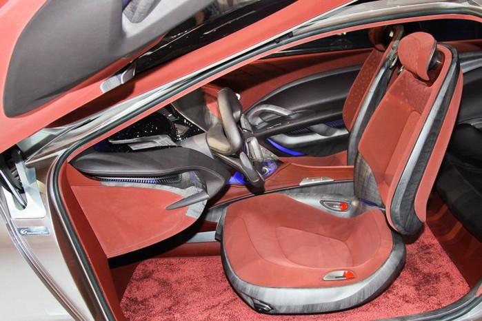 Футуристичный концепт кар I-ioniq от Hyundai 17 (700x466, 100Kb)