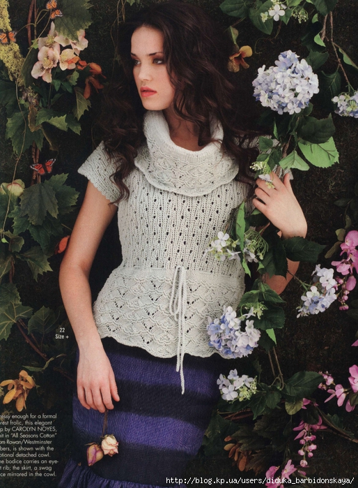 3661726_lace_top_and_cowl (514x700, 345Kb)