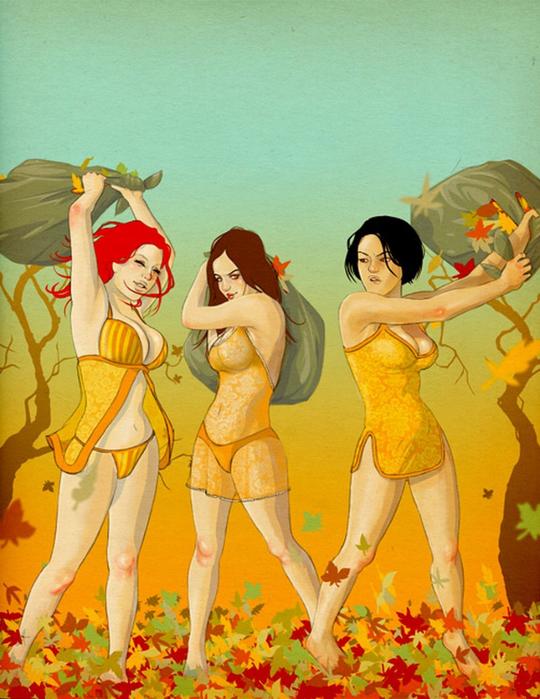 Лучшие иллюстраторы - Jason Levesqu 65 (540x700, 456Kb)