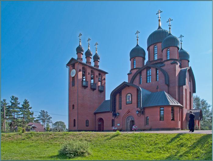 Токсово в Всеволожском районе в Ленинградской