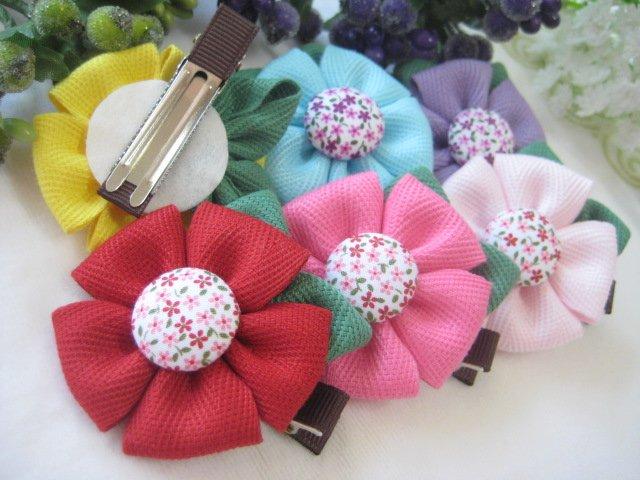 Аксессуары для волос.  Scrunchy with flower