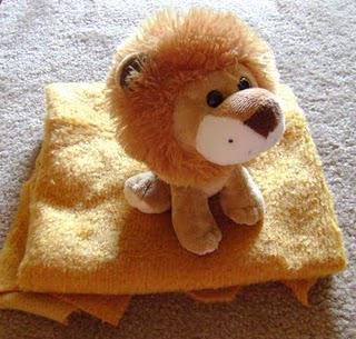 Игрушка льва своими руками