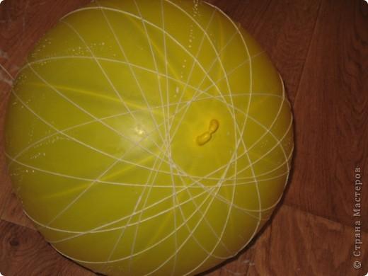 Своими руками на основе шара