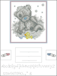 Превью Anchor TT112 Bath Time Birth Sampler (529x700, 149Kb)