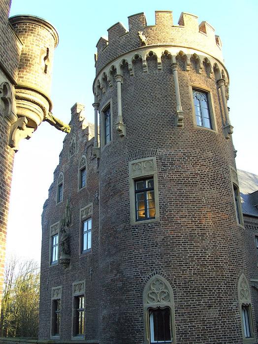 ЗАМОК Паттендорф - Schloss Paffendorf 54931