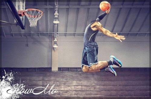 SlowMo, Pphotoshop, Templates for photoshop, Psd, Psd-исходники, Наряды, Костюмы, Шаблоны, Для фотошопа, Для фотомонтажа, Фотошаблоны, Фотомонтаж, Баскетболист, мяч, Прыжок, Кольцо, Basketball, Man, Boy, Ball/1334483381_Basketball_man_Cover (500x329, 60Kb)