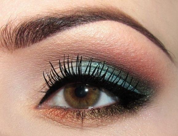 Какой макияж подойдет к карим глазам и русым волосам