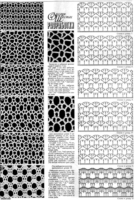 Crochet Net : ... wzory on Pinterest Crochet stitches, Crochet and Crochet borders