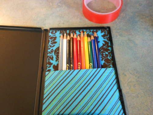 Коробочка для карандаша своими