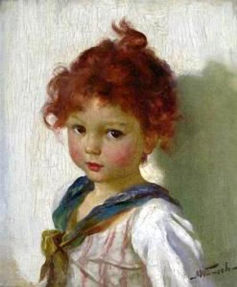 Marie (Mizzi) Wunsch (1862 – 1898, German)a-young-girl1 (486x590, 188Kb)