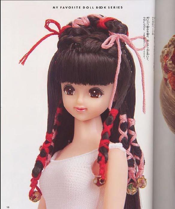 Прически для кукол девочкам
