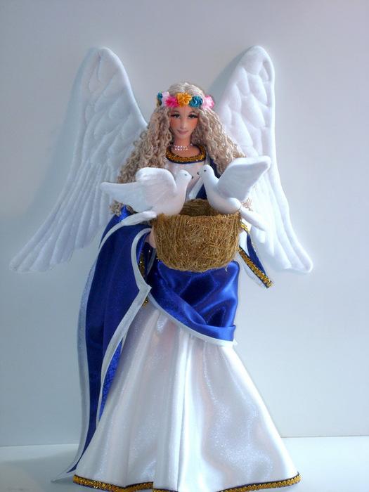Как сделать куклу ангела своими руками