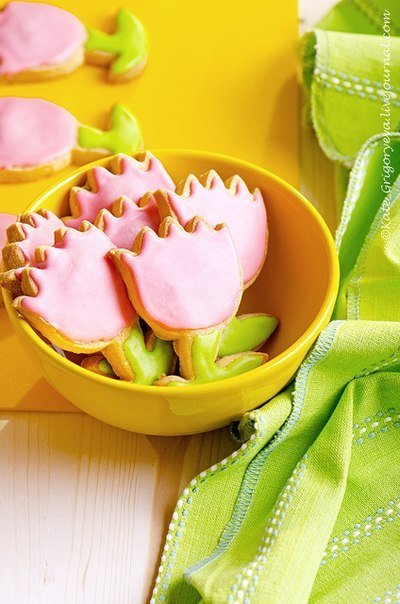 весеннее печенье