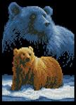 Превью Janlynn013-0307-Forever_Wild-Bear (222x306, 78Kb)