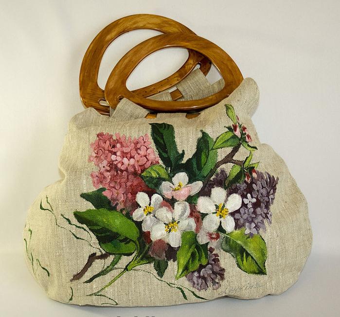 фотн и выкройка сумки саквояж