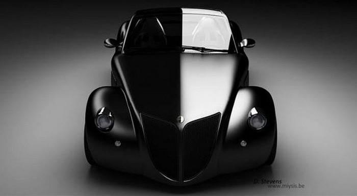 Концепт кар в стиле винтаж - Imperia GT 2 (700x384, 30Kb)