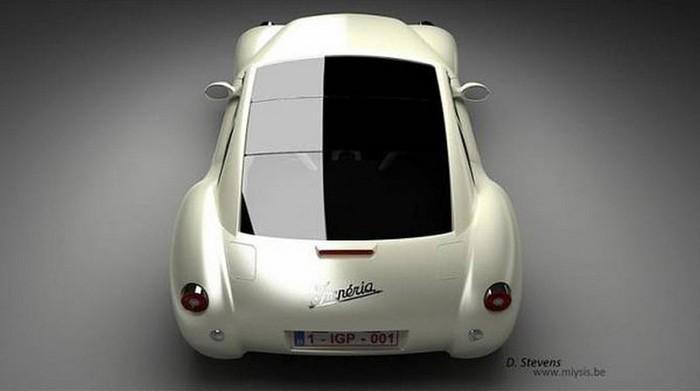 Концепт кар в стиле винтаж - Imperia GT 6 (700x391, 31Kb)