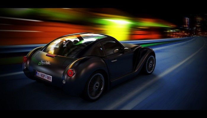Концепт кар в стиле винтаж - Imperia GT 17 (700x400, 42Kb)